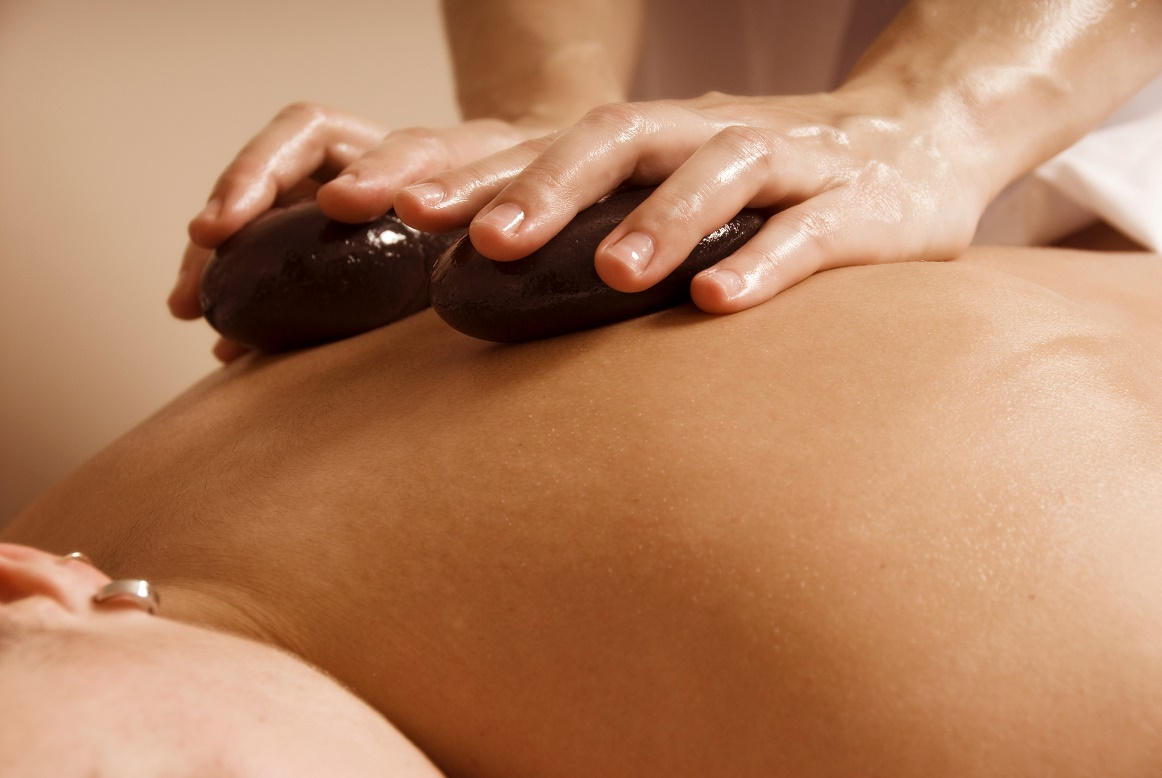 Hot Stone Massage at Therapy Station