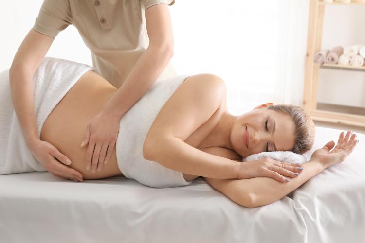 Pregnancy Massage at Therapy Station