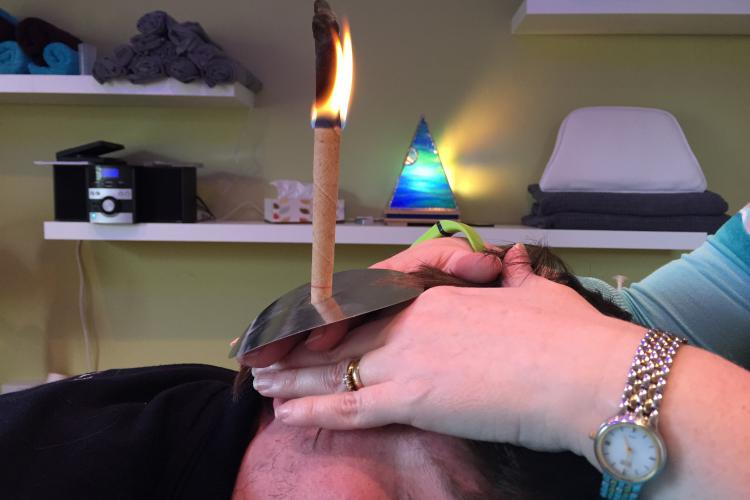 Hopi Ear candles at Therapy Station